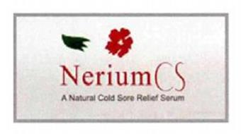 NERIUM CS A NATURAL COLD SORE RELIEF SERUM