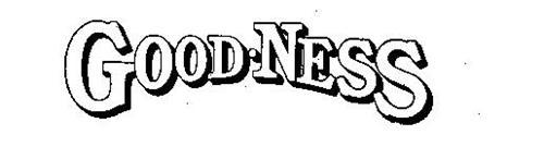GOOD-NESS