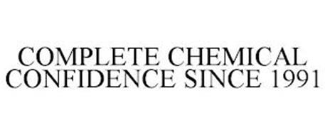 COMPLETE CHEMICAL CONFIDENCE SINCE 1991