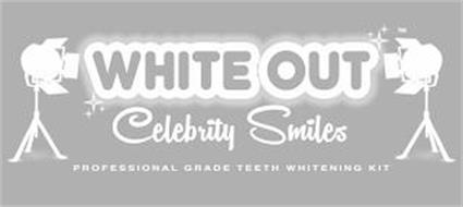 WHITE OUT CELEBRITY SMILES PROFESSIONALGRADE TEETH WHITENING KIT