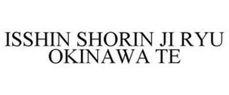 ISSHIN SHORIN JI RYU OKINAWA TE