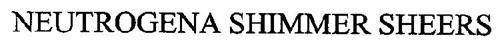 NEUTROGENA SHIMMER SHEERS