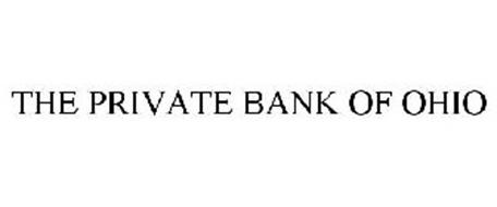 THE PRIVATE BANK OF OHIO