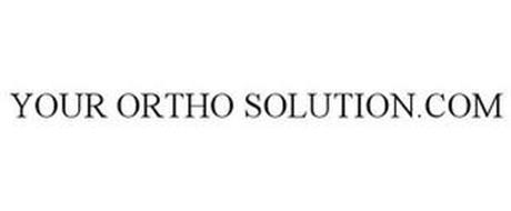 YOUR ORTHO SOLUTION.COM