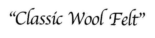 """""""CLASSIC WOOL FELT"""""""