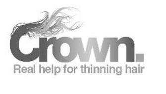 CROWN. REAL HELP FOR THINNING HAIR