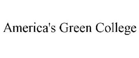 AMERICA'S GREEN COLLEGE