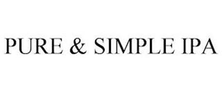 PURE & SIMPLE IPA