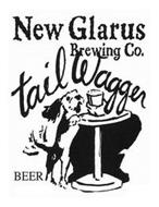 NEW GLARUS BREWING CO. TAIL WAGGER BEER