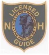 NH LICENSED GUIDE STATE OF NEW HAMPSHIRE LIVE FREE OR DIE