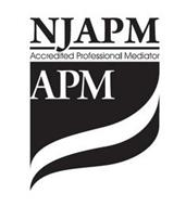 NJAPM ACCREDITED PROFESSIONAL MEDIATOR APM