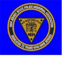 LIBERTY AND PROSPERITY AND 1776 AND 1921 AND NEW JERSEY STATE POLICE AND NEW JERSEY STATE POLICE MEMORIAL ASSOCIATION AND DEDICATED TO THOSE WHO HAVE SERVED