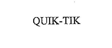 QUIK-TIK