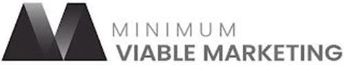 MV MINIMUM VIABLE MARKETING