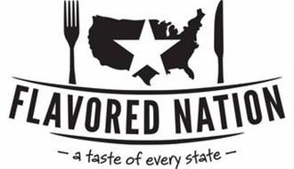FLAVORED NATION - A TASTE OF EVERY STATE -
