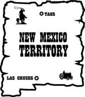 NEW MEXICO TERRITORY TAOS LAS CRUCES