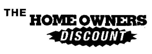 THE HOME OWNERS DISCOUNT