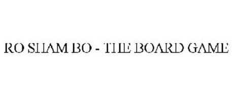RO SHAM BO - THE BOARD GAME