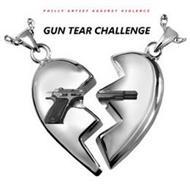 GUN TEAR CHALLENGE PHILLY ARTIST AGAINST VIOLENCE