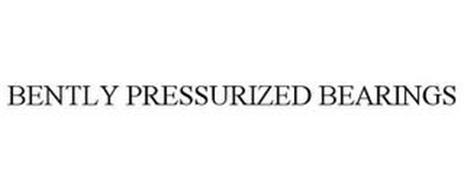 BENTLY PRESSURIZED BEARINGS
