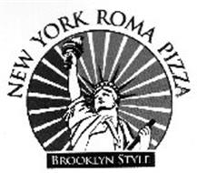 NEW YORK ROMA PIZZA BROOKLYN STYLE