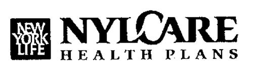 NEW YORK LIFE NYLCARE HEALTH PLANS Trademark of NEW YORK ...