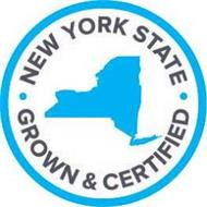 NEW YORK STATE GROWN & CERTIFIED