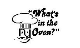 """N Y """"WHAT'S IN THE OVEN?"""""""