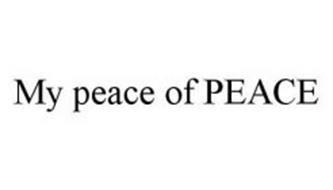 MY PEACE OF PEACE