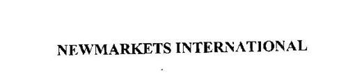 NEWMARKETS INTERNATIONAL