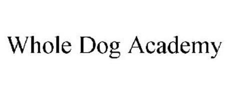WHOLE DOG ACADEMY