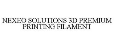 NEXEO SOLUTIONS 3D PREMIUM PRINTING FILAMENT