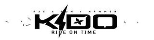 K I D O RIDE ON TIME AXE X GUN X HAMMER