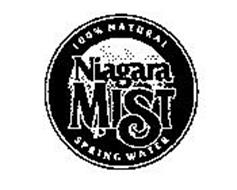 NIAGARA MIST 100% NATURAL SPRING WATER