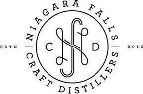 NFCD NIAGARA FALLS CRAFT DISTILLERS ESTD 2016