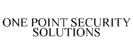 ONE POINT SECURITY SOLUTIONS