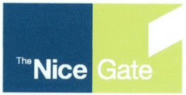 THE NICE GATE Trademark of NICE S P A  Serial Number