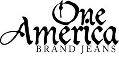 ONE AMERICA BRAND JEANS