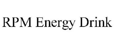 RPM ENERGY DRINK