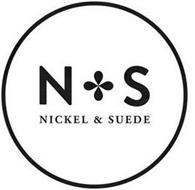N S NICKEL & SUEDE