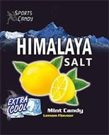 HIMALAYA SALT SPORTS CANDY EXTRA COOL MINT CANDY LEMON FLAVOUR