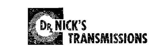DRX NICK'S TRANSMISSIONS