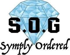 S.O.G SYMPLY ORDERED