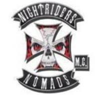 NIGHTRIDERS NOMADS M C  Trademark of Nightriders Motorcycle