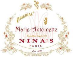ORIGINAL MARIE-ANTOINETTE VERSAILLES DEPUIS 1672 NINA'S PARIS SINCE 1672
