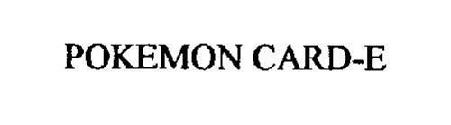 POKEMON CARD-E