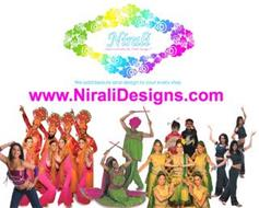 NIRALI DANCE COSTUMES BY NIRALI DESIGNS. WE ADD BEAUTY AND DESIGN TO YOUR EVERY STEP WWW.NIRALIDESIGNS.COM