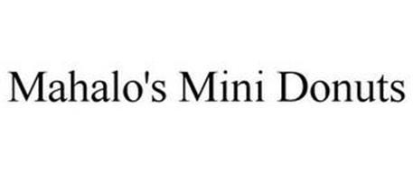 MAHALO'S MINI DONUTS