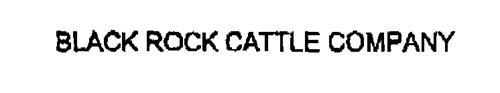 BLACK ROCK CATTLE COMPANY