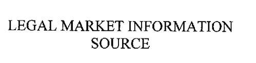 LEGAL MARKET INFORMATION SOURCE